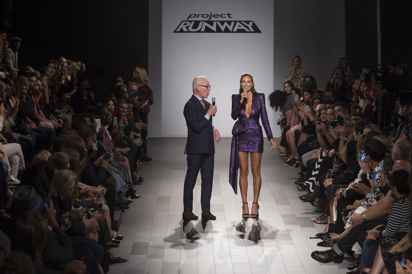 Who Showed At New York Fashion Week From Project Runway